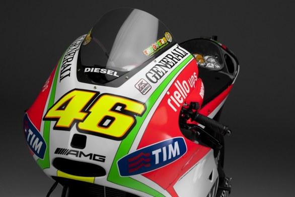 Presentación Ducati Desmosedici GP12