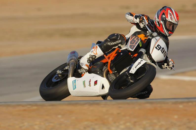KTM 690 Duke Track. Galería de fotos