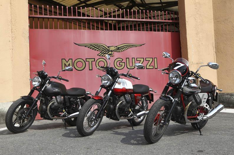 Moto Guzzi V7 2012. Galería de fotos