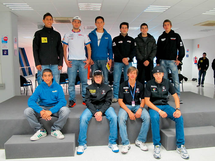 CEV 2012. Jerez. Primera prueba