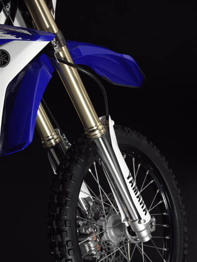 Yamaha WR450F. Galería de fotos