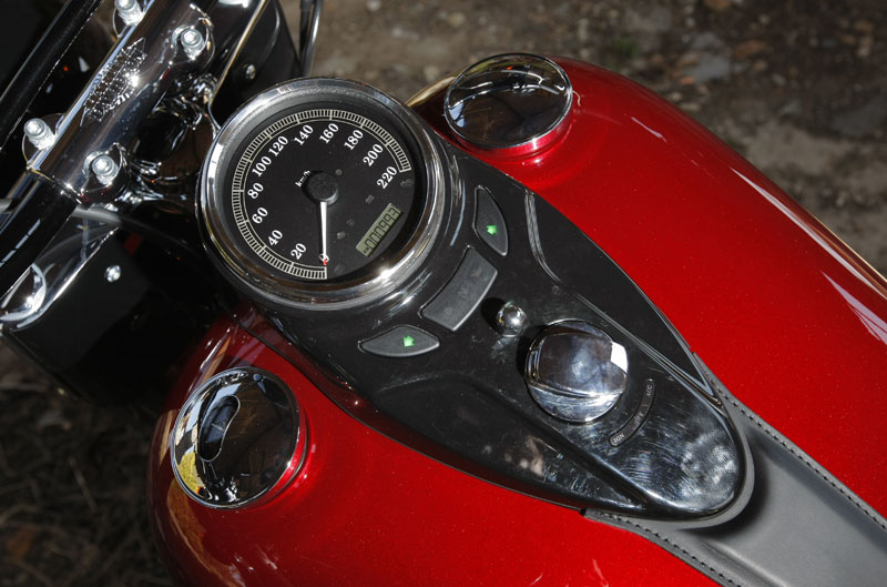 Harley-Davidson FSL Softal Slim. Galería de fotos.