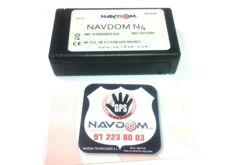 Alarma y localizador Navdom N4