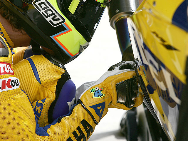 Rossi y Yamaha juntos hasta 2008