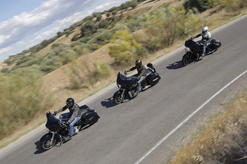 Comparativa Custom Touring: Kawasaki, Harley-Davidson, Victory