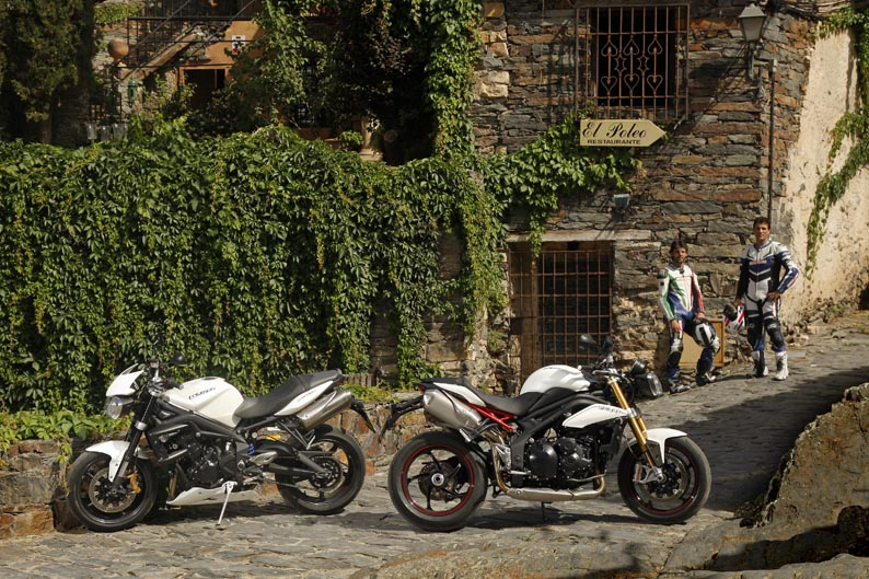 Triumph Street Triple R y Triumph Speed Triple R
