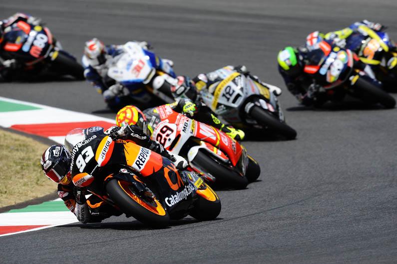 GP Italia de Moto2. Galería de fotos