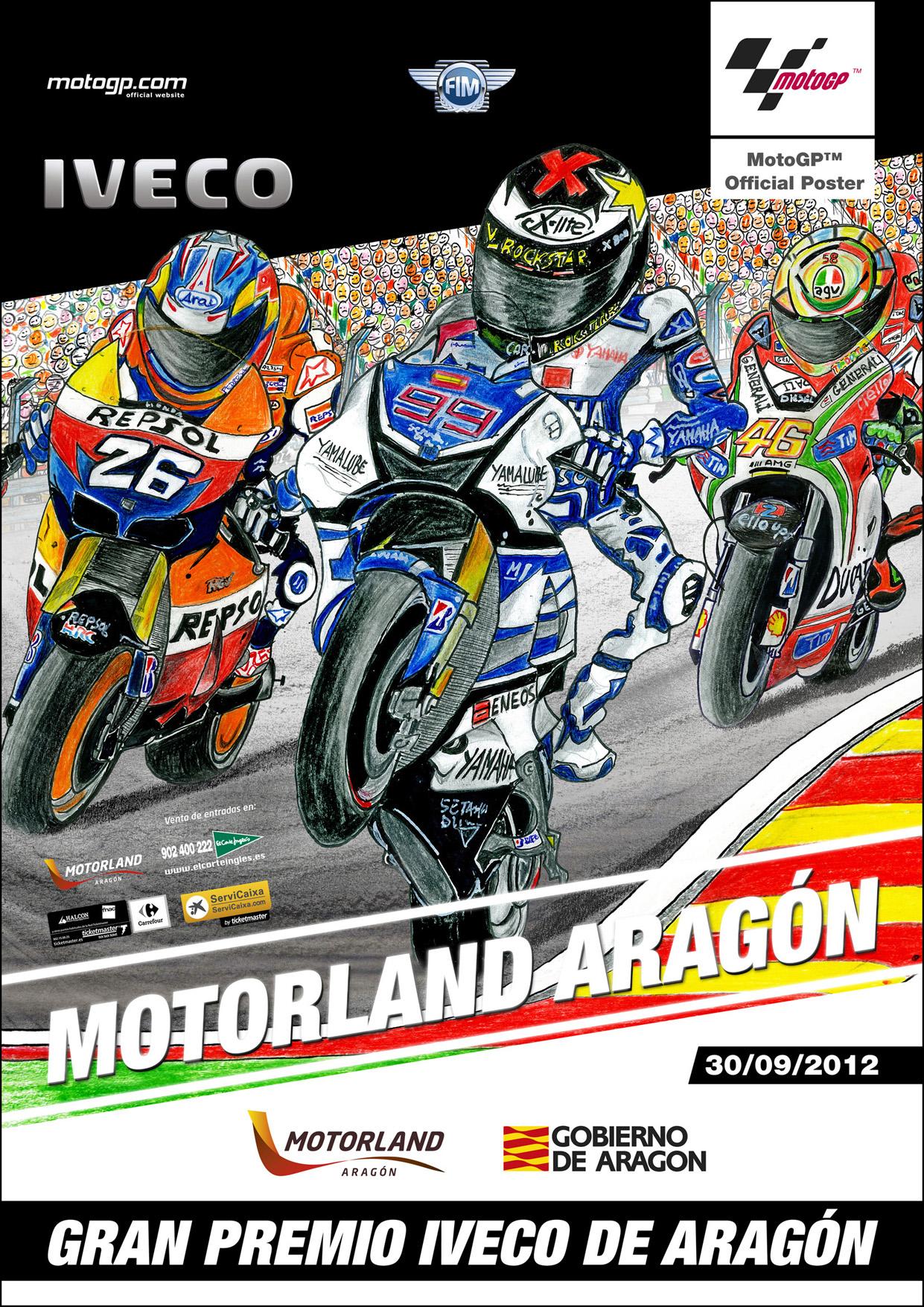 Cartel Promoción GP Aragón