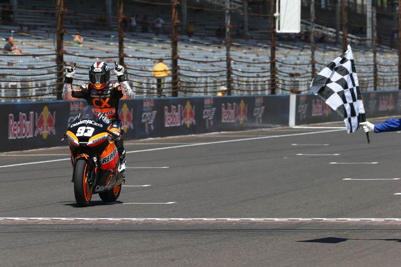 GP Indianápolis Moto2. Galería de fotos