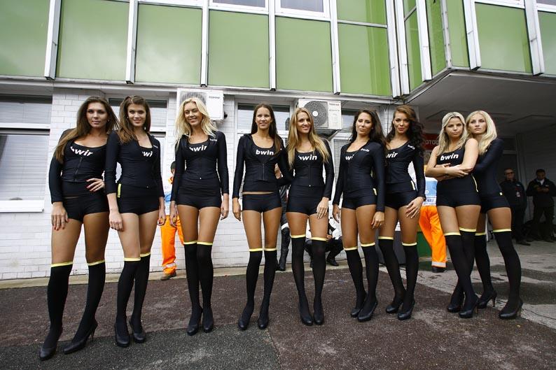 Las chicas de Brno 2012
