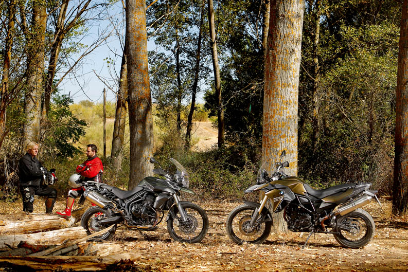 Comparativa Triumph Tiger 800 XC vs BMW F800GS