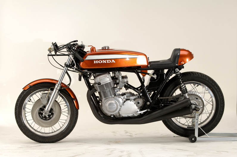 Honda CR750 1970. Fotos