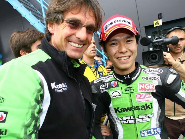 Kawasaki y Eckl llegan a un acuerdo