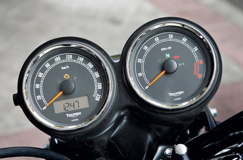 Un mes con Triumph Bonneville T100