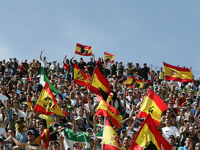 Presentación del GP de España