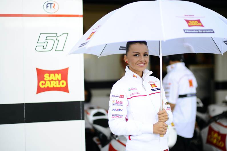 Las chicas del GP de San Marino de MotoGP 2012