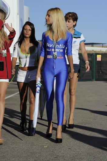 Las chicas del GP de Aragón de MotoGP 2012
