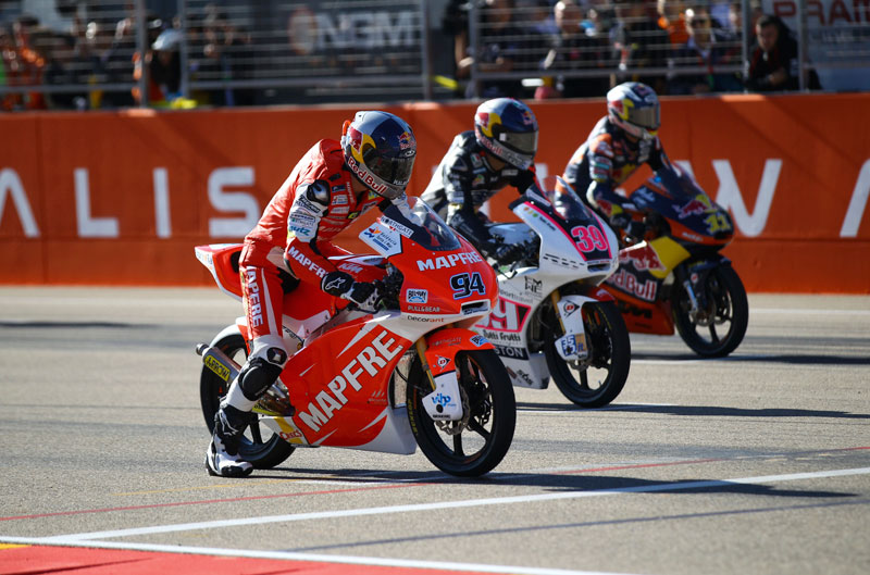Gran Premio de MotorLand. Aragón. Moto3 2012