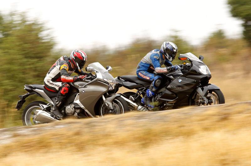 Comparativa Sport-Turismo: BMW y Honda