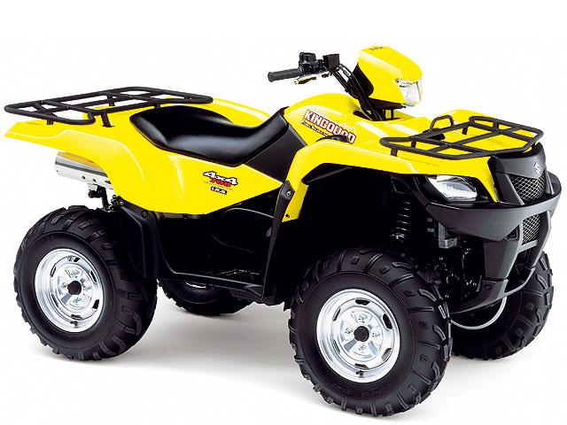 Suzuki presenta sus quads 2007