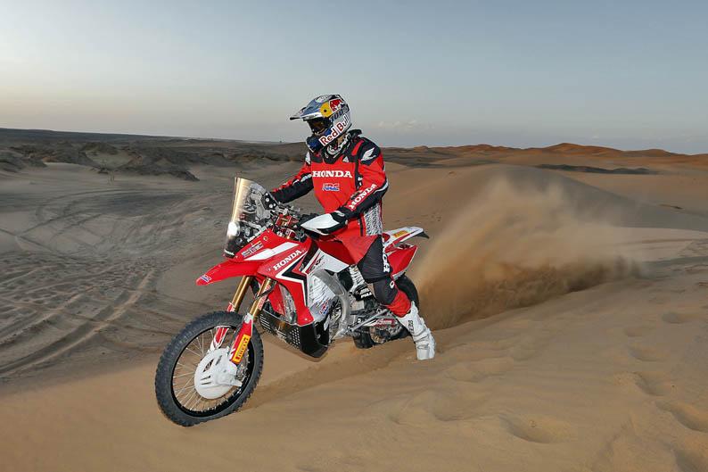 Felipe Zanol. Honda HRC CRF450 Rally