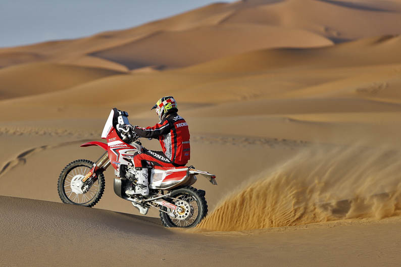 Pizzolito. Honda HRC CRF450 Rally