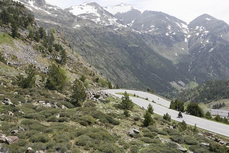 Turismo Andorra Honda NC700X