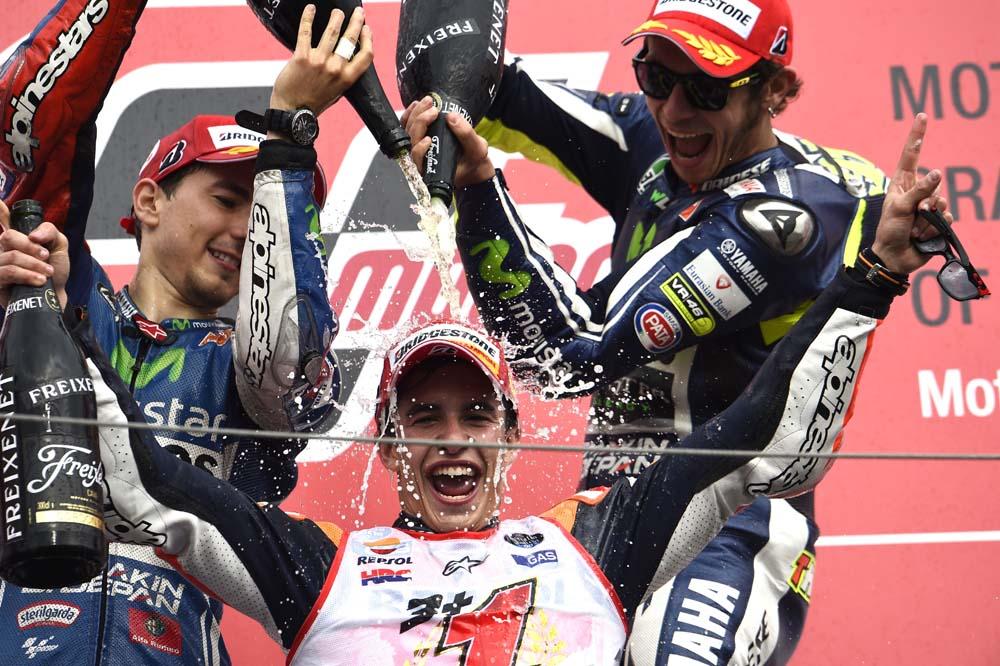 La carrera deportiva de Marc Márquez. Galería de fotos