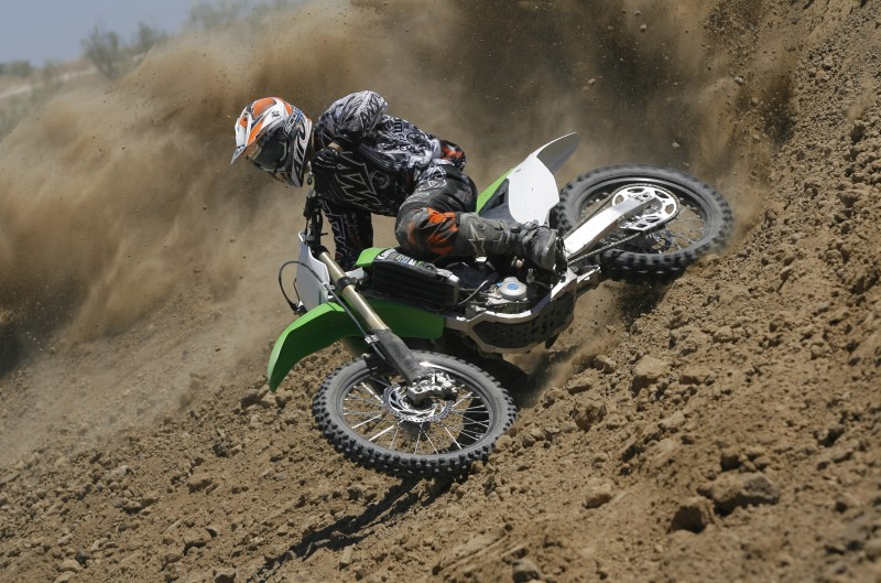 Comparativa cross 450 Moto Verde