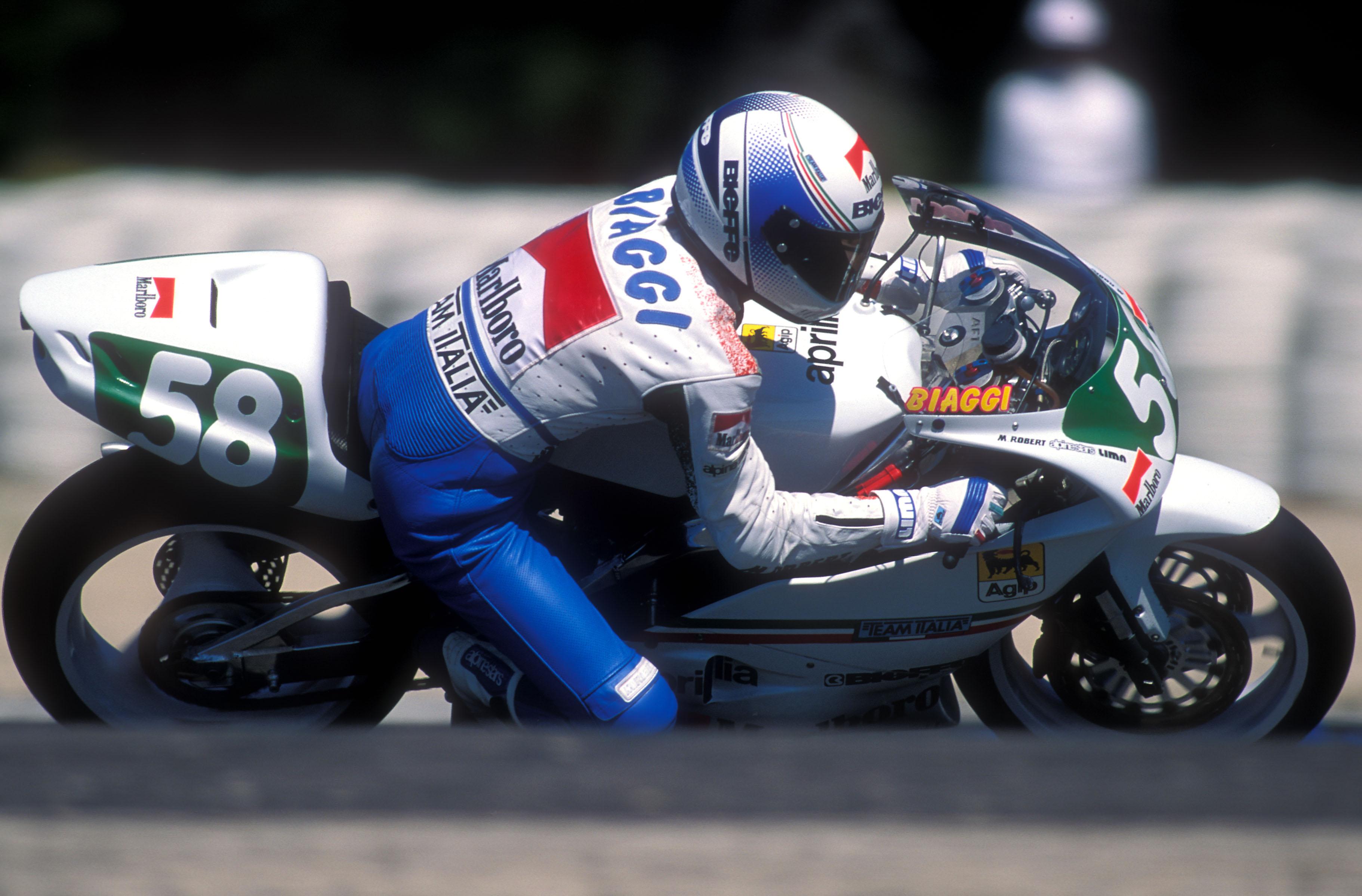 La carrera deportiva de Max Biaggi