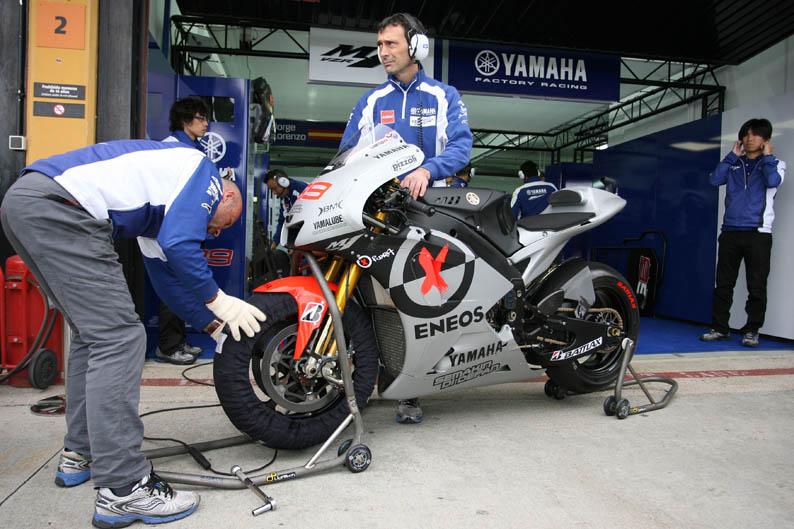 La moto de Jorge Lorenzo
