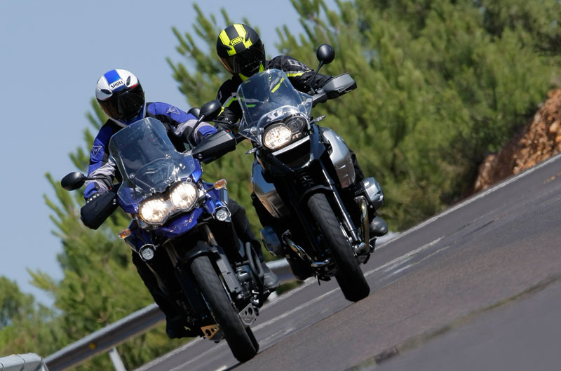Comparativa BMW R 1200 GS y Triumph Tiger Explorer 1200