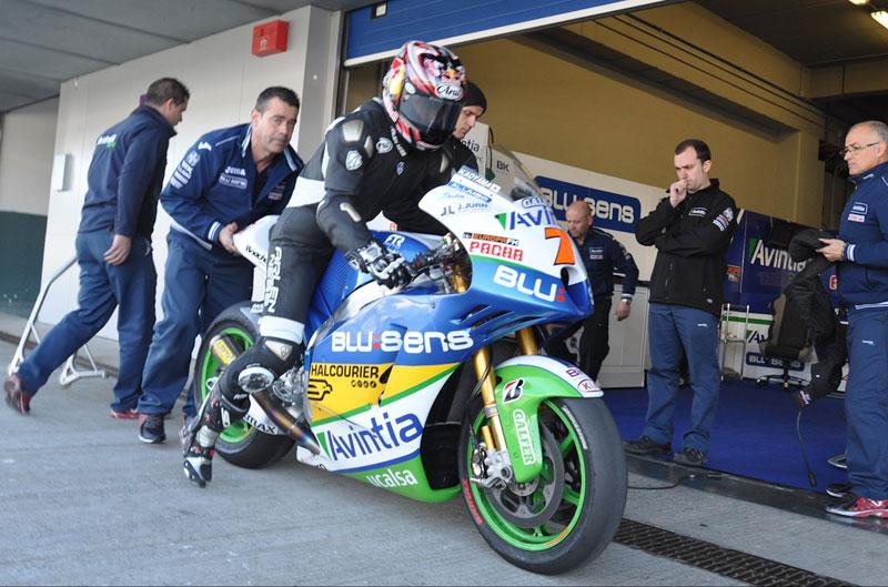 Test MotoGP en Jerez