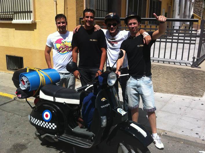 Vuelta a España en Vespa. Asturias