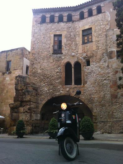 Vuelta a España en Vespa