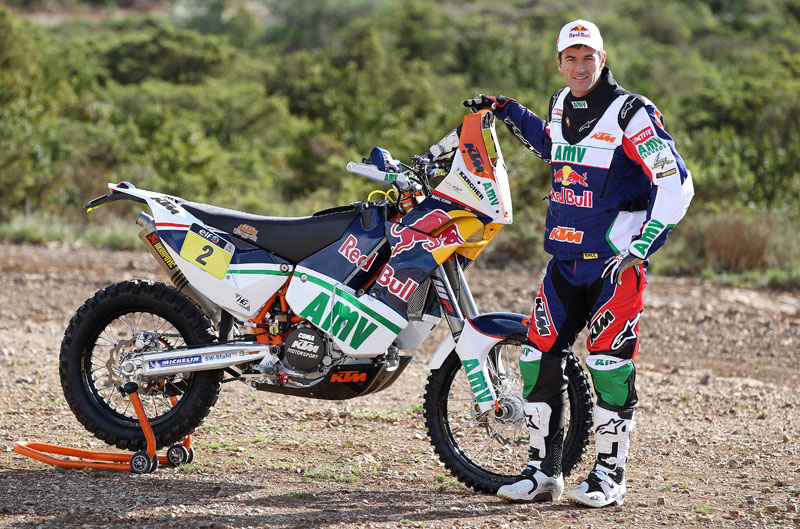 La KTM de Marc Coma para el Dakar 2013