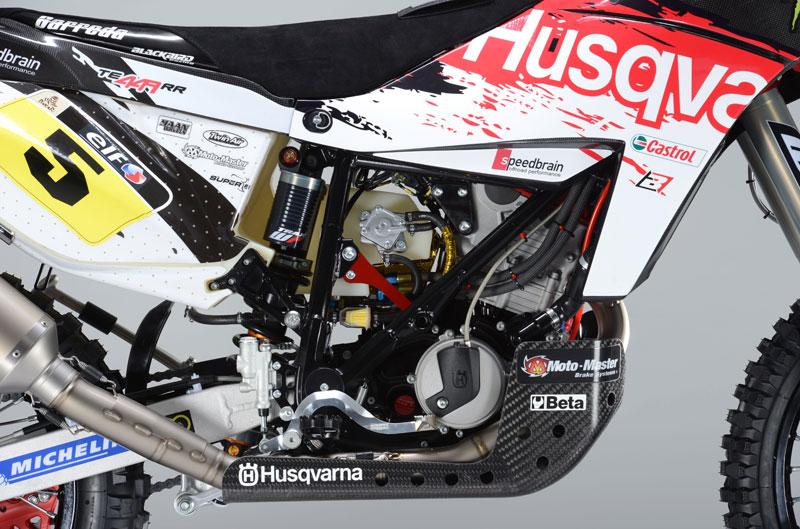 Husqvarna Speedbrain del Dakar 2013