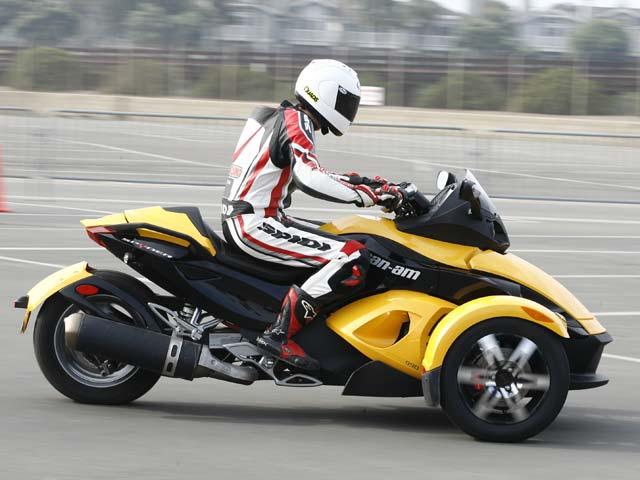 Roadster ¡de tres ruedas!