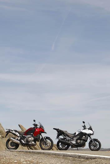 Comparativa Honda Crosstourer vs Kawasaki Versys 1000. Galería de imágenes