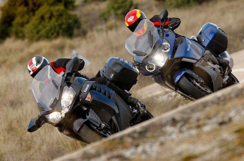 Comparativa: BMW K 1600 GT / Kawasaki 1400GTR