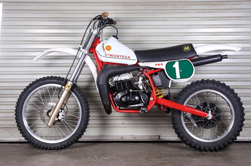 Montesa Cappra Réplica P.R.S. 1981