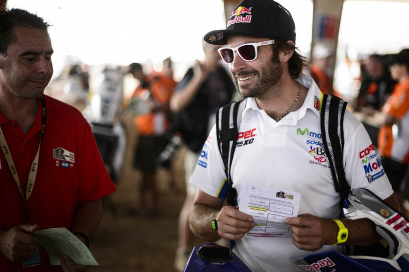 Dakar 2013. Etapa 1