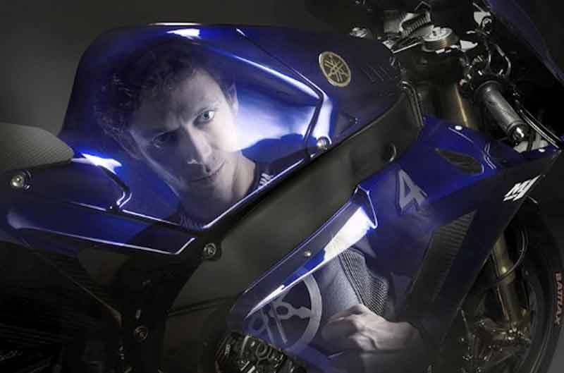 Las primeras fotos de Lorenzo y Rossi en Yamaha