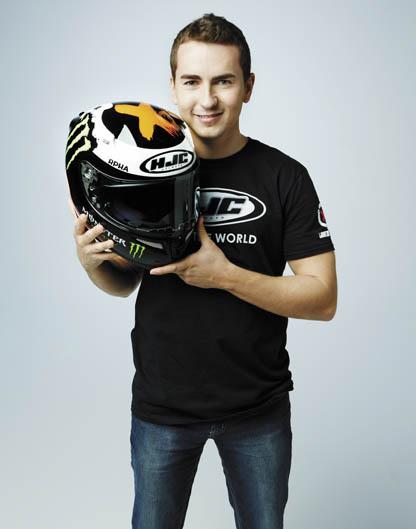 El nuevo casco de Jorge Lorenzo