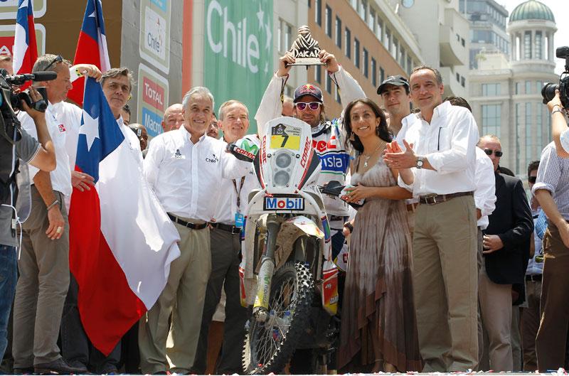 Dakar 2013. Francisco Chaleco López