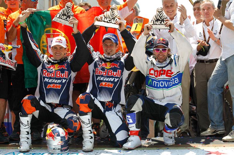 Dakar 2013. Podio Final