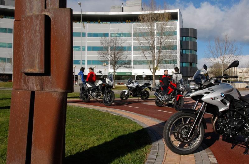 Comparativa Trail: BMW, Honda, Kawasaki y Suzuki. Fotos