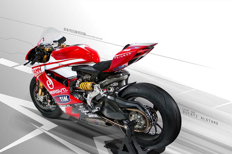 Presentación equipo Alstare Ducati SBK