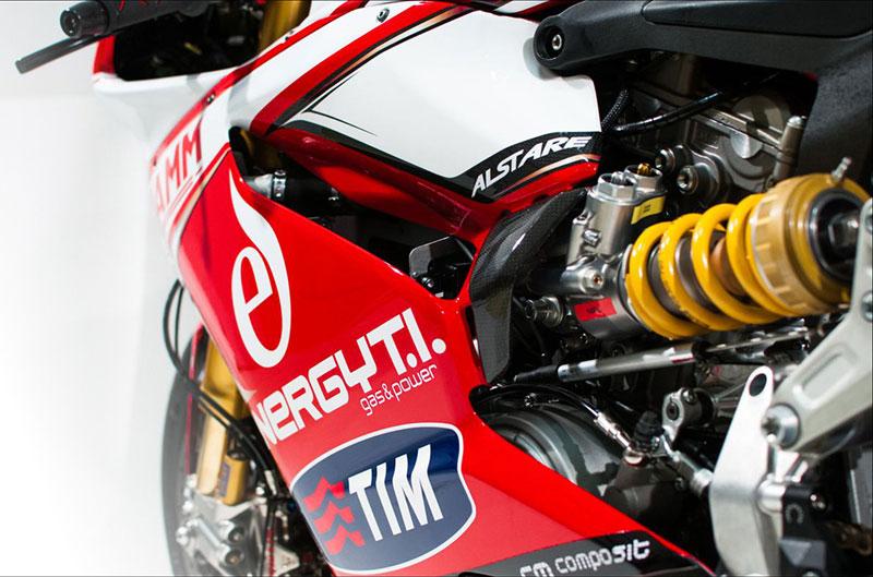 Alstare Ducati SBK presenta la 1199 Panigale R