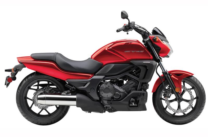 Nueva Honda CTX700. Fotos